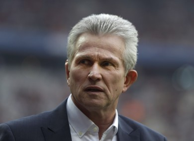 Heynckes' side are currently top of the Bundesliga.
