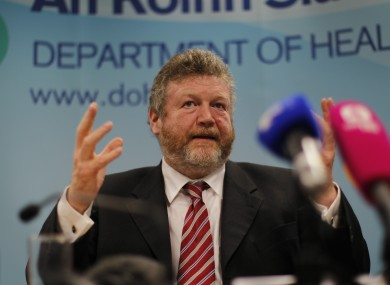 Minister for Health, James Reilly.