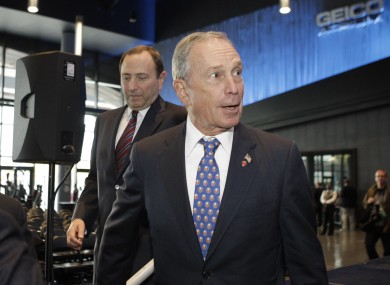 NYC mayor Michael Bloomberg has told police to use their loudspeakers to call for evacuations of coastal areas.