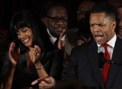 Jesse Jackson Jr. and his wife Chicago Alderman Sandi Jackson