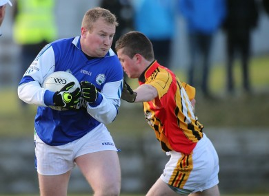 Paudie Hurley in action for Castlehaven in their recent Munster club quarter-final.