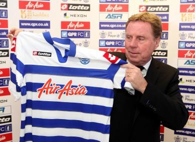 New QPR manager Harry Redknapp.