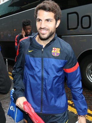Cesc Fabregas: wrong passport. (File photo)