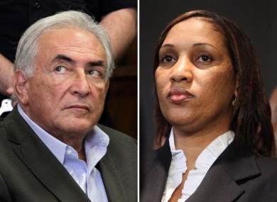 Strauss-Kahn and his accuser, Nafissatou Diallo