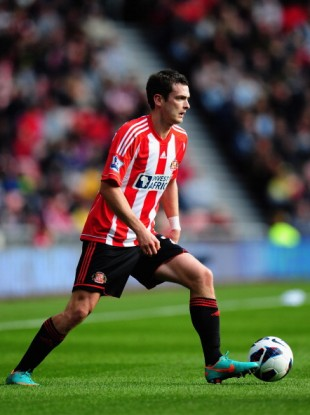 Sunderland player Adam Johnson.