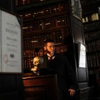 The same Arthur also paid for the restoration of Ireland's first public library, Marsh's Library in St Patrick's Close, which dated back to 1701.  Pic: Julien Behal/PA Wire