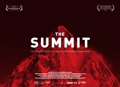 K2 Mountain Summit Irish film about K2 mountain tragedy selected for Sundance 2013