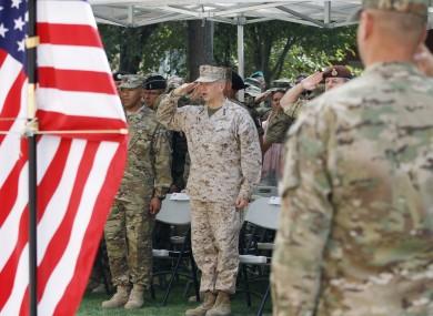 File image of US troops in Afghanistan.