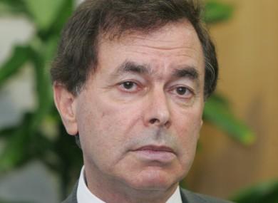 File photo of Justice Minsiter Alan Shatter