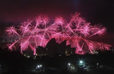 Take a look at Sydney's amazing fireworks display