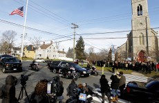 Bells sounded in Newtown to mark a week since shootings