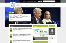 Government defends cost of €244k EU presidency website