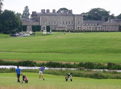 General view from Carton House