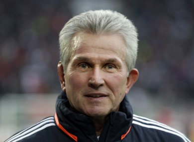 Bayern Munich head coach Jupp Heynckes is refusing to take anything for granted despite how well his team is playing.