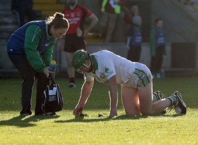 Fears that Shefflin suffered a broken bone in his ankle have been alleviated.