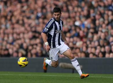 Long has scored eight goals so far this season.