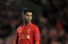 Suso fined for 'gay' tweet about Liverpool team-mate Enrique