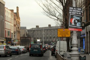 Anti-abortion posters seen in Dublin before Christmas