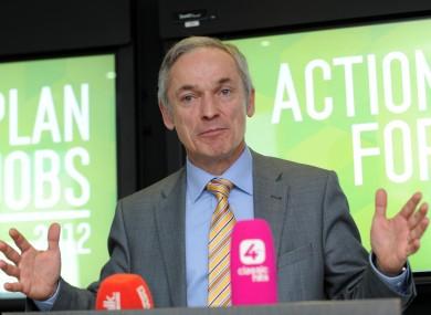 Jobs and Enterprise Minister Richard Bruton
