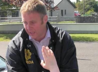 Garda Detective Adrian Donohue