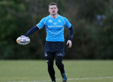 Brian O'Driscoll has recovered from injury in time to face Edinburgh.
