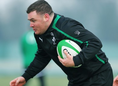Dave Kilcoyne should be 6 Nations back-up to Cian Healy.