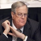 What he does: Co-founder of Koch Industries (chemical and industrial company) as well as major conservative backer. (Image: AP)