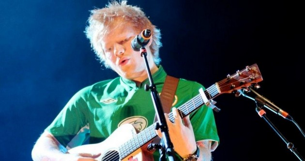 'Best crowd EVER' – Ed Sheeran dons Ireland jersey for O2 gig