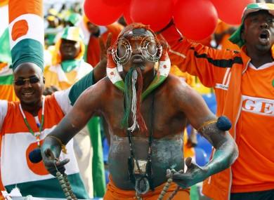 Niger fans.