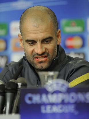 'What do you think of Bayer Leverkusen Pep?' Guardiola in February 2012.