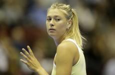 Sharapova pulls out of Brisbane International