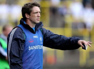 Kildare manager Kieran McGeeney.
