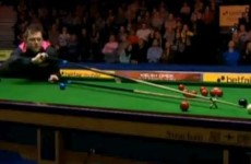 VIDEO: Mark Allen raises a laugh at Ally Pally thanks to this effort with the rest…