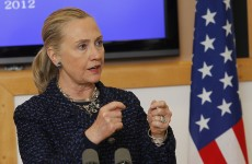 Hillary Clinton returns to work, to meet with American ambassador to Ireland