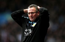 'Quit? No chance' – Lambert remains defiant after yet another cup humiliation