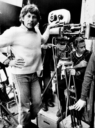 Roman Polanski during the filming of Tess in March 1981,