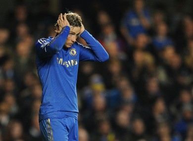 Torres produced a disappointing performance, as Chelsea lost to QPR on Wednesday night.