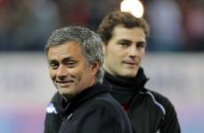 Out of favour: Mourinho drops Casillas yet again