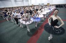Photos: Dublin ballet dancers attempt a new world record