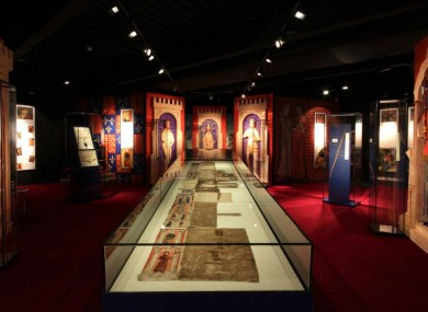 Waterford Museum of Treasures benefited from the scheme in 2012. Pic: Medieval Museum Gallery - featuring Waterford's finest Great Charter Roll.