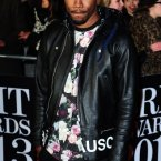 Frank Ocean showing that a little floral goes a long way.  Looking good Mr. Ocean.  Ian West/PA Wire/Press Association Images