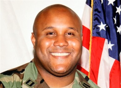 Los Angeles Police Department shows suspect Christopher Dorner, a former Los Angeles officer.