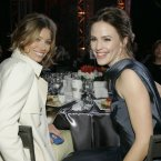JESSICA BIEL AND JENNIFER GARNER:  Apparently they haven't looked back since the bonded during the filming of Valentine's Day, with Jennifer even joking about swapping partners during a Marie Claire interview.  Ben Affleck for Justin Timberlake?  That's probably a fair exchange. AP Photo/Kevork Djansezian