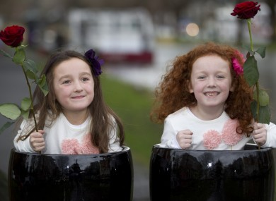 Sisters Hannah and Emma Boughton from Rush, Co Dublin, who both have epilepsy.