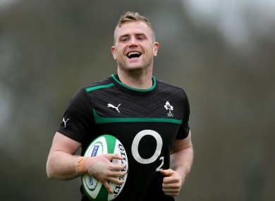 Jamie Heaslip: Big fan of... everybody