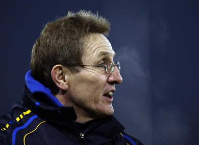 DCU manager Niall Moyna.