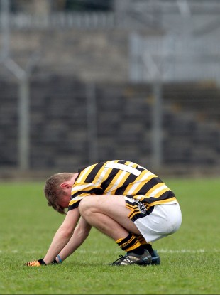One Coláiste Eoin player.