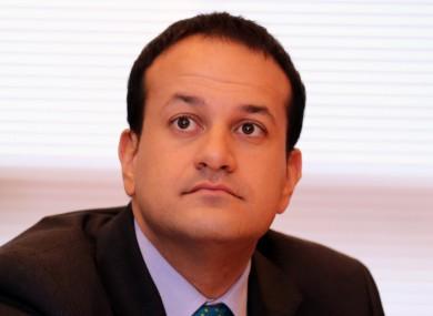 Transport Minister Leo Varadkar.