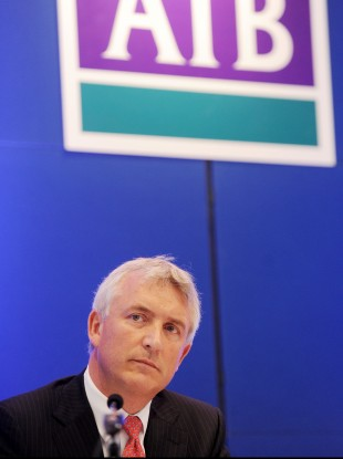 Chief Executive Officer of AIB, David Duffy, was paid €546,000 last year.