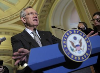 Senate Majority Leader Harry Reid (file photo)